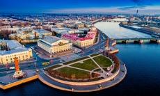 Vasilyevsky Island, St Petersburg, Russia