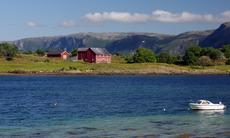 Landscape near Bronnoysund, Norway