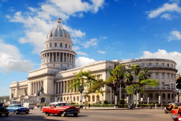 The Capitolio in Havana, Cuba