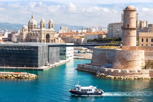 Port of Marseille, France