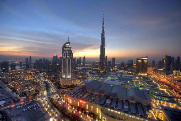 Downtown Dubai, UAE