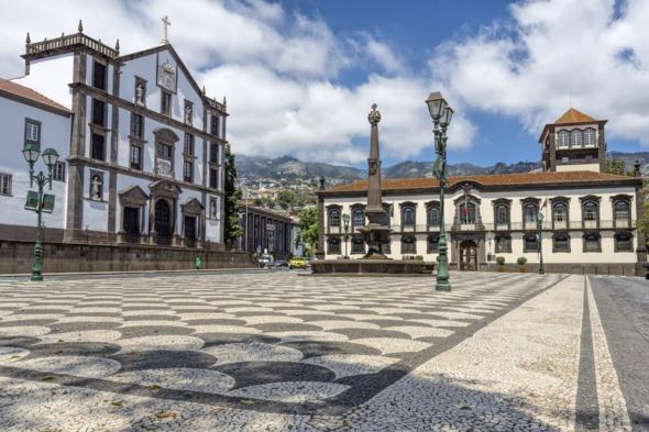 Funchal city hall, Madeira, Portugal