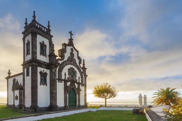 Mae de Deus chapel Ponta Delgada, Sao Miguel, Azores