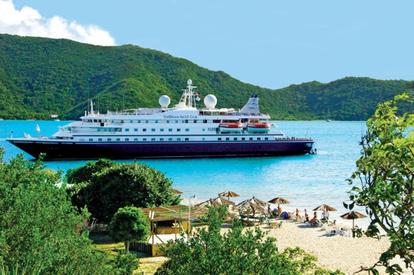 SeaDream, one of our favourite small luxury cruise ships