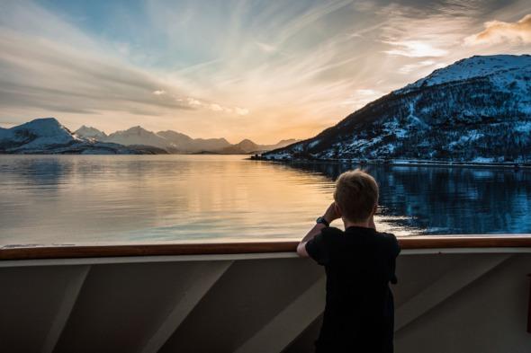 Family adventure holidays - Hurtigruten expedition cruise