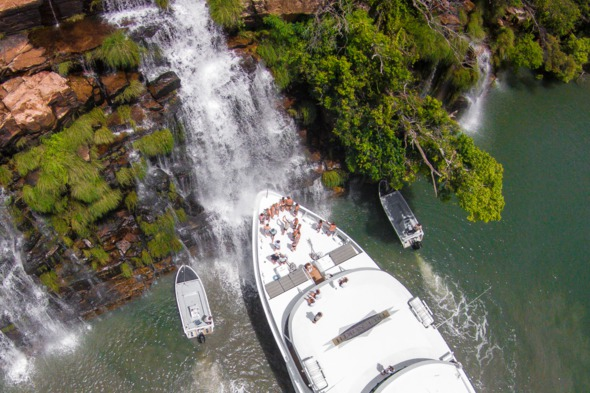 True North Cruises at the King George Falls, Australia
