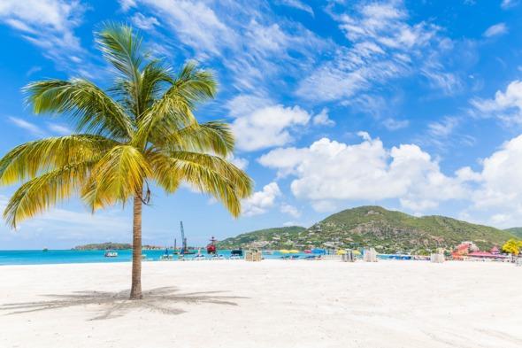 Beach near Philipsburg, Sint Maarten