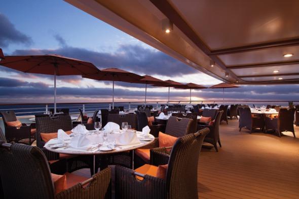Oceania Marina and Riviera Terrace Cafe