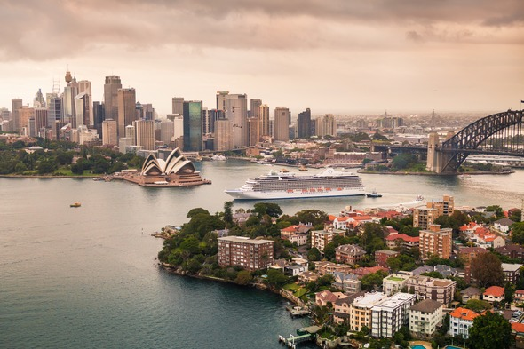 Oceania Cruises 2019 highlights - Marina in Sydney Harbour