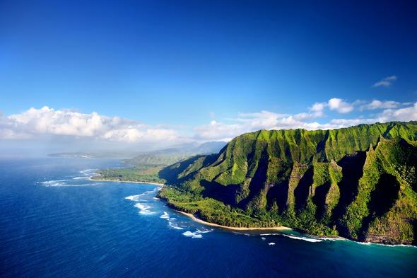 The Napali Coast of Kauai, Hawaii
