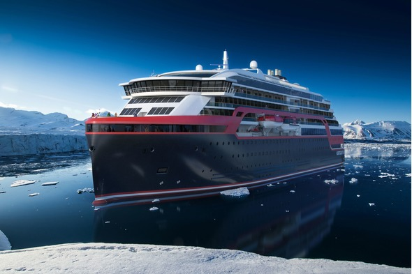 Hurtigruten's MS Roald Amundsen, one of the expedition cruise ships of the future