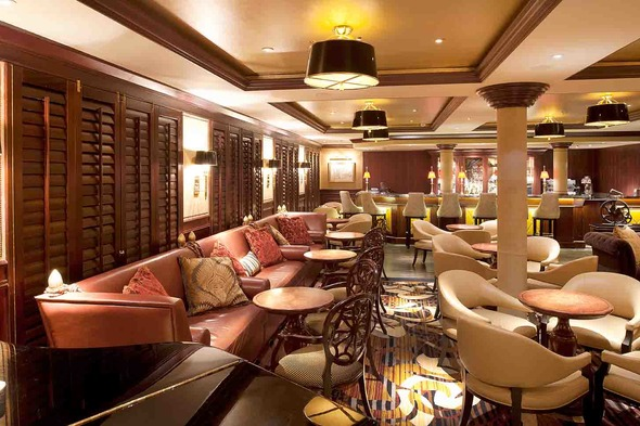 Crystal Symphony - Avenue Saloon bar