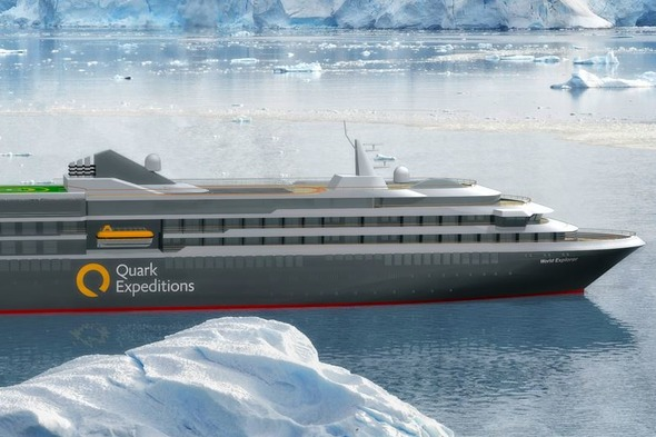 Quark Expeditions - MS World Explorer