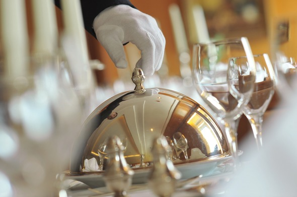 Fine dining on Ponant