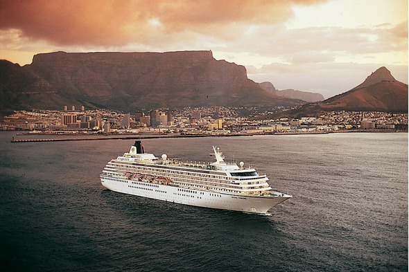 Crystal Symphony in Cape Town