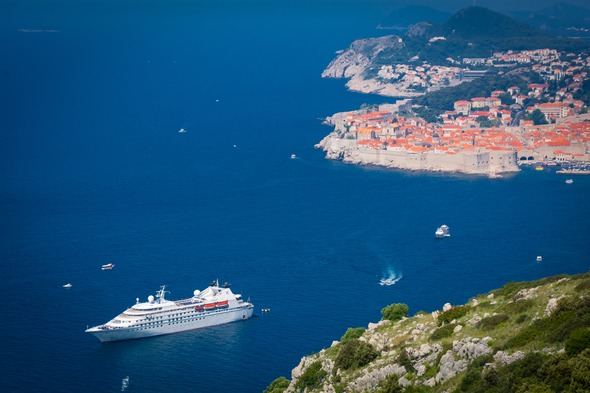 Windstar Cruises review - Star Breeze in the Adriatic