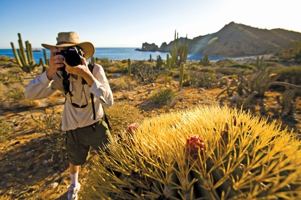 Lindblad Expeditions - Photographer in Sea of Cortez, Mexico
