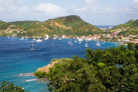 View of Martinique