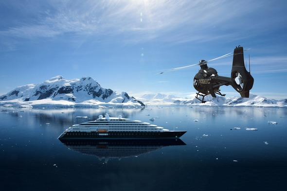 Scenic Eclipse in Antarctica
