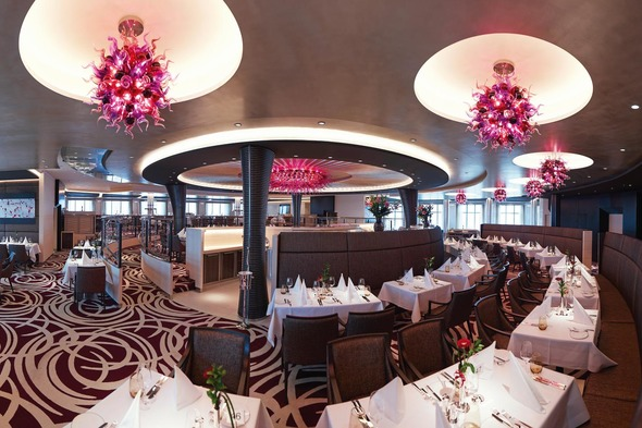 Hapag-Lloyd Cruises - Europa 2 Weltmeere restaurant
