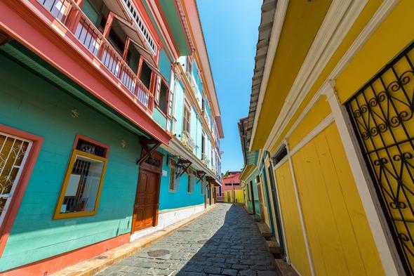La Pena in Guayaquil, Ecuador