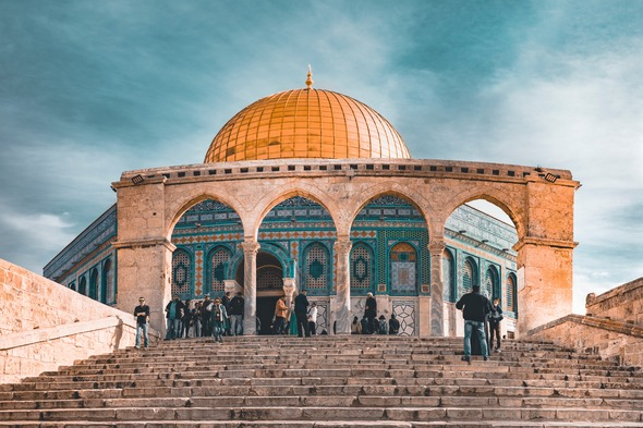 The Dome of the Rock, Jerusalem - Photo by John T, Unsplash