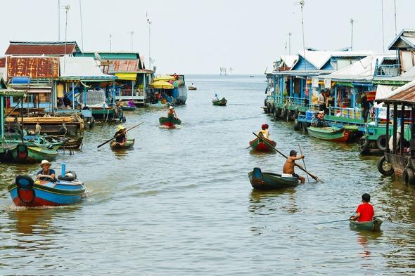 Mekong river cruise guide - Tonle Sap, Cambodia
