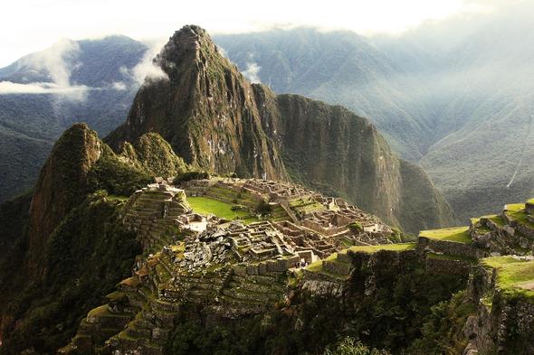 Mist over Machu Picchu, Peru