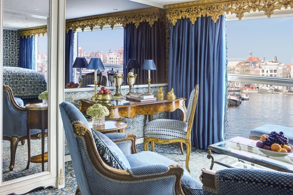 Royal Suite on Uniworld's S.S. Maria Theresa