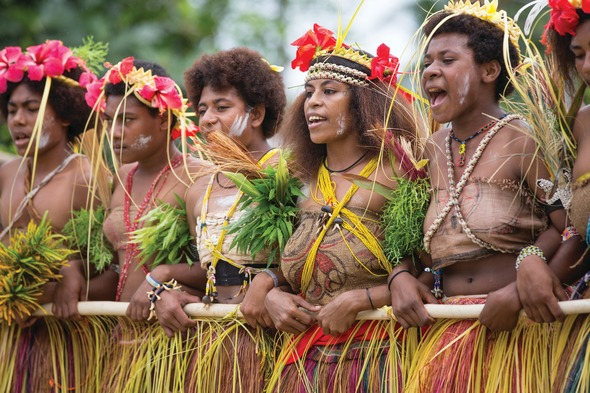 A warm welcome in Papua New Guinea