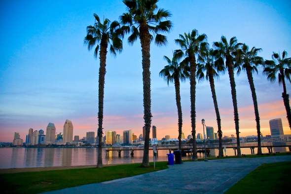 Skyline in San Diego