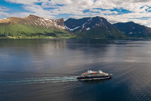 Ponant Cruises - Le Lapérouse in Alesund, Norway 2018