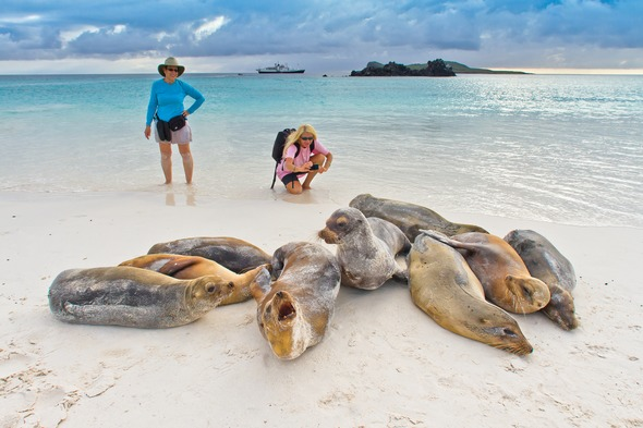 Lindblad Expeditions in the Galapagos