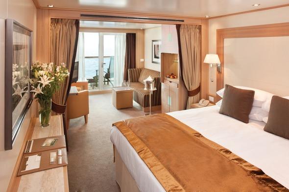 Seabourn Odyssey - Veranda Suite