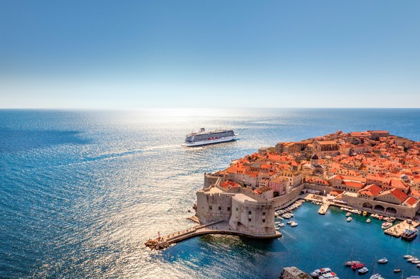 Viking Sea in Dubrovnik