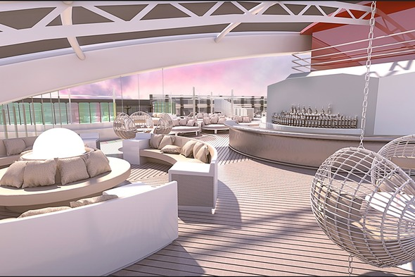Virgin Voyages - bar