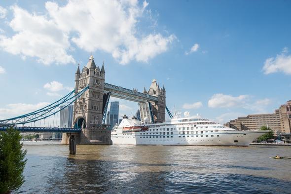 Five best sail away ports - Windstar Legend Tower Bridge