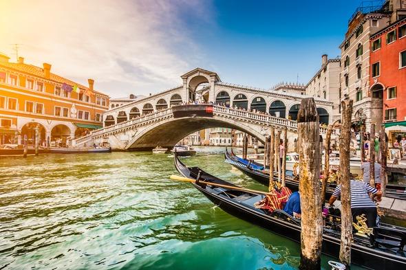 five best sail away ports - Rialto Bridge, Venice