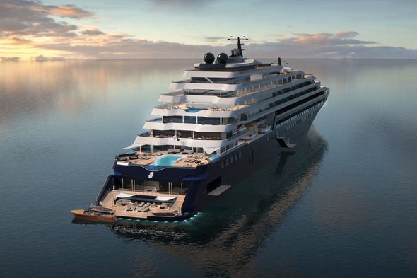 Ritz-Carlton Yacht Collection (Artist's impression)