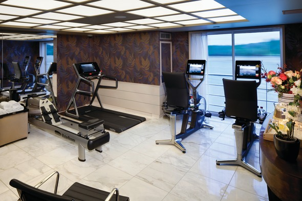 Health and Wellness - AmaPrima Fitness Room, AmaWaterways