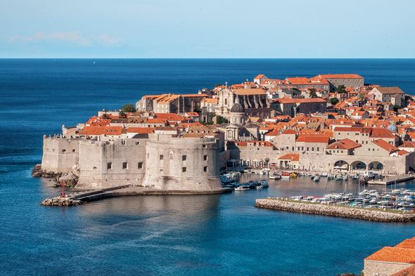 9 of the best small ships for the Adriatic & Croatia - Dubrovnik port, Croatia