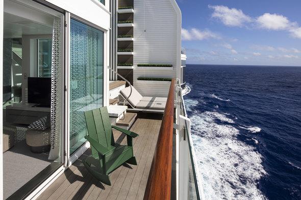 Celebrity Edge - Edge Villa balcony
