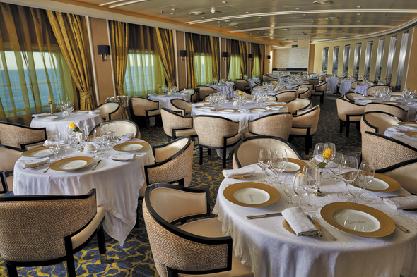 Regent Seven Seas Voyager - Chartreuse restaurant