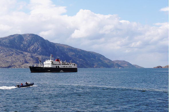Hebridean Princess, Scotland