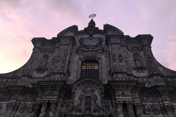Church of the Company of Jesus in Quito, Ecuador