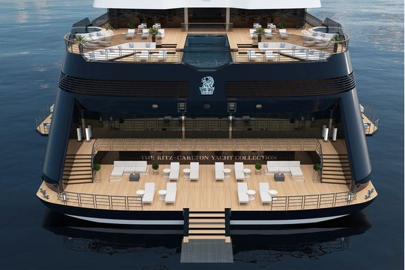 Ritz-Carlton Yacht Collection, one of the exciting new small cruise ships coming soon