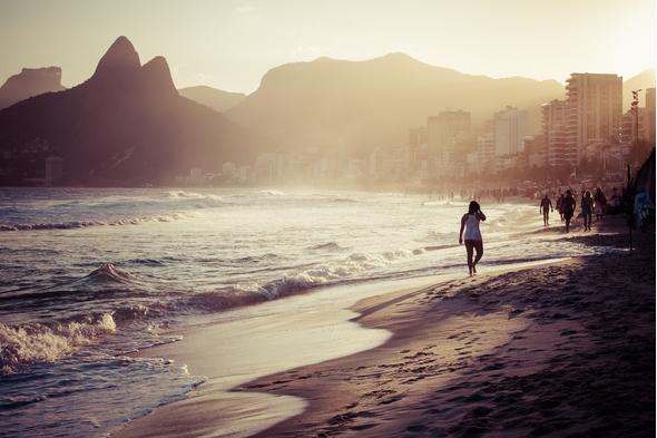 Brazil and Argentina cruises - Ipanema Beach, Rio de Janeiro
