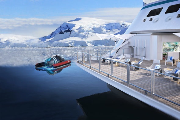 Crystal Endeavor - Submersible in Antarctica