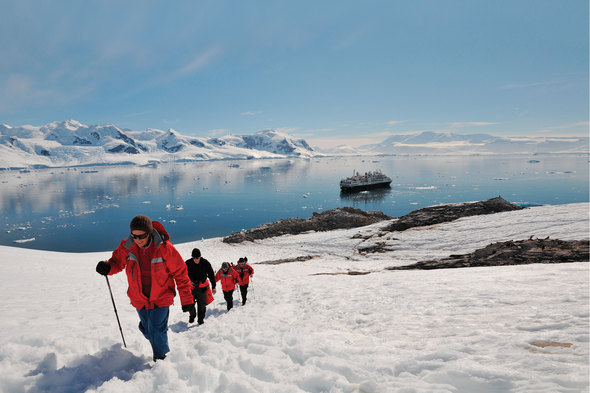 Silversea Expeditions - Silver Explorer in Antarctica