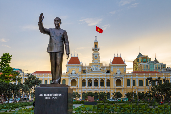 City Hall, Ho Chi Minh City, Vietnam